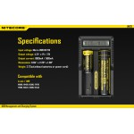 Nitecore -- DOUBLE - USB Intellicharger -- UM20 LCD