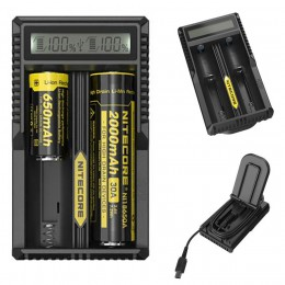 Nitecore - DOUBLE - USB Intellicharger - UM20 LCD