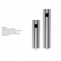 eGo ONE V2 - Standard BATTERY V2 - 1500mAh - Steel
