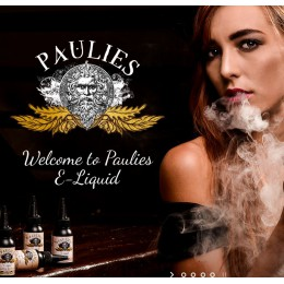 100ml - PAULIES -  Pistachio Ice-cream @ 3mg / 100ml