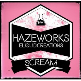 100ml - HAZEWORK'S SCREAM @ 3mg / 100ml