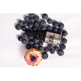 100ml - PAULIES - Blueberry Cupcake - @ 3mg / 100ml