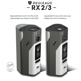 Wismec Reuleaux RX2/3 MOD - 200Watt (Excludes Batteries)