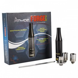 Atmos Forge PLUS -- WAX Heating Atomizer + 510 Adapter - BLACK