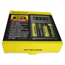 Nitecore Intellicharger - New I4 - Li-ion/NiMH Battery 4-slot Charger