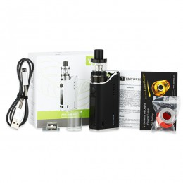 Vaporesso Attitude - STARTER KIT - 80W (Excludes Battery) - BLACK