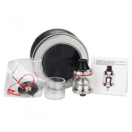 Arctic Dolphin Hector RTA Atomizer - Silver