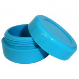 Silicone Jars (Wax / Oil Container / 7ml ) - BLUE