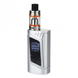 SMOK - 220W Alien Kit with TFV8 Baby - Excludes Batteries - Silver