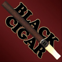 100ml - Vape Elixir - Black Cigar - 12mg / 100ml