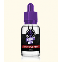 Motley Brew - Grateful Red - 30ml @ 3mg