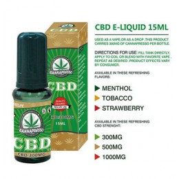 Cannapresso CBD (Only for Vaping)