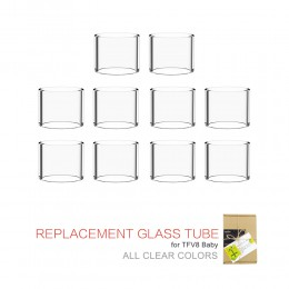 10pcs CLEAR GLASS – for SMOK BABY (3ml)