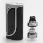 Eleaf - iKonn 220W with Ello Kit (Excluding Batteries) - Silver Black