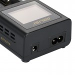 Golisi S2 - 2.0A Smart Charger with LCD Screen - 2 Bay