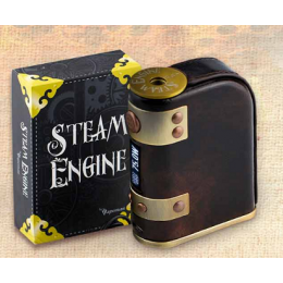 Vapeman - Steam Engine 75W DNA75 TC Box Mod (Excluding Batteries) - ANTIQUE BROWN