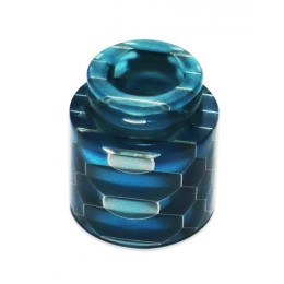 Blitz Snake Skin Resin Drip Tip for TFV8 Series - Blue