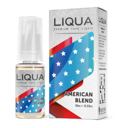 30ml LIQUA American Tobacco ------- ZERO (0mg)