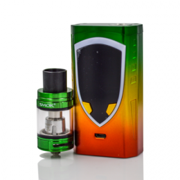 SMOK - ProColor 225W TC Kit with TFV8 Big Baby - Rasta Green