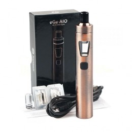 AIO eGo -- Quick Starter Kit - 1500mAh --- Brushed Bronze