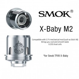 V8 X Range - SMOK X Coils (Only for X-BABY / X-BIG BABY) - 3PACK --- X-M2