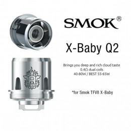 V8 X Range - SMOK X Coils (Only for X-BABY / X-BIG BABY) - 3PACK --- X-Q2