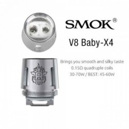V8 X Range - SMOK X Coils (Only for X-BABY / X-BIG BABY) - 3PACK --- X-X4