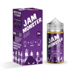 JAM MONSTER – GRAPE - 100ml @ 3mg