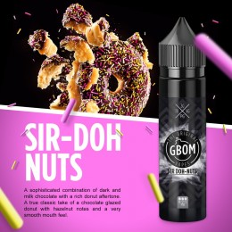 GBOM Vapes - Sir Doh-Nuts - 60ml @ 2mg