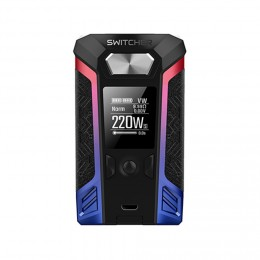 Vaporesso - Switcher 220W TC Box MOD (Excluding Batteries) - Red/Blue