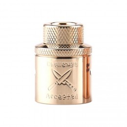 Hellvape - Dead Rabbit Butcher Challenge Cap  (Just Cap for 24mm RDA) - Brass