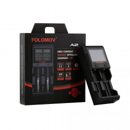 Folomov - A2 Smart Quick Charger with LCD Screen