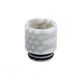Blitz Snake Skin Resin Drip Tip for TFV8 Series - Black/White