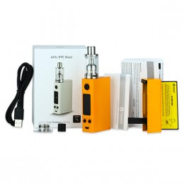 Joyetech - eVic VTC Dual with ULTIMO Starter Kit (Excluding Batteries) - Orange