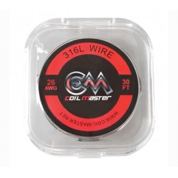 26ga - Coil Master Stainless Steel Wire - 30ft