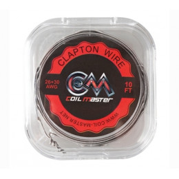 Coil Master - Clapton Wire 26/30G Wire 10ft