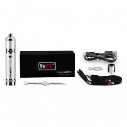 Yocan - Evolve Plus XL Wax Vape Pen Kit 1400mAh - Silver