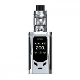 Smok - R-Kiss 200W Starter Kit (Excluding Batteries) - Silver/Black