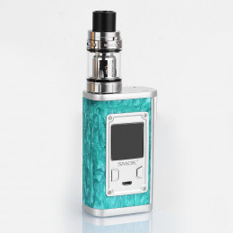 SMOK - Majesty 225W TC Kit with TFV8 X-Baby 4ml (Excluding Batteries) - Green Resin