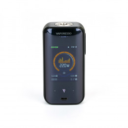 Vaporesso - Luxe 220W Touch Screen TC MOD (Excluding Batteries) - Black
