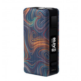 Aspire - Puxos 80/100W TC Box MOD (Excluding Battery) - Psychedelic (P3)
