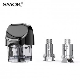 1pcs - SMOK Nord -- Replacement POD (includes 2 x Coils)  - 3ml