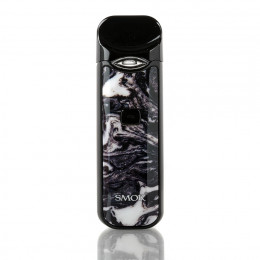 SMOK - Nord Pod Starter Kit 1100mAh - Black and White Resin