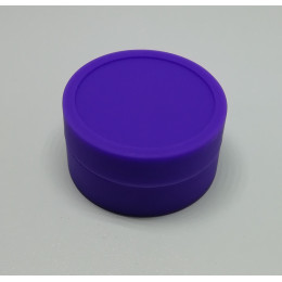 Silicone Jars (Wax / Oil Container / 9ml ) - Purple