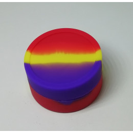 Silicone Jars (Wax / Oil Container / 9ml ) - Rainbow