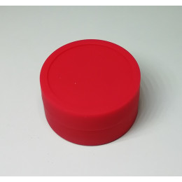 Silicone Jars (Wax / Oil Container / 9ml ) - Red