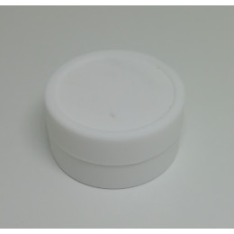 Silicone Jars (Wax / Oil Container / 9ml ) - White