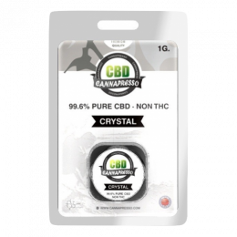Cannapresso: CBD Isolate Crystal (1g)