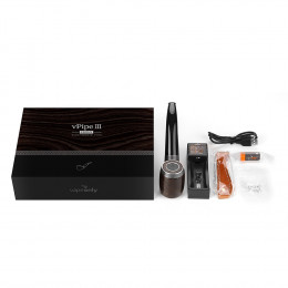 VapeOnly - vPipe III Ebony e-Pipe 18350 Kit 1300mAh