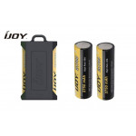 IJOY Silicone Case for Dual 20700/21700 Batteries - Black